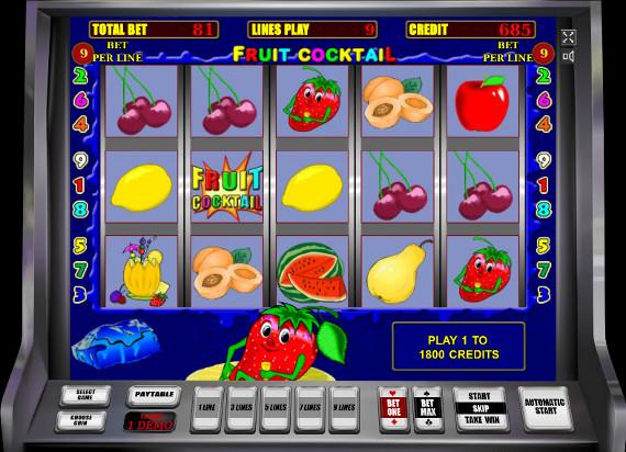 Игровой автомат Fruit Cocktail - выигрывай уверенно в популярном онлайн слоте