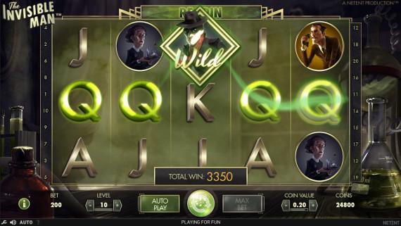 Игровой автомат The Invisible Man - попробуй аппарат бесплатно в казино Вулкан онлайн